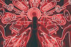 woman standing watching LED light musical instrument photo – Free Music Image on Unsplash Musik Wallpaper, Wallpaper Telephone, Wallpaper Art, Red Pictures, Music Pictures, Music Images, Piano Pictures, Whatsapp Pink, Photo Avion