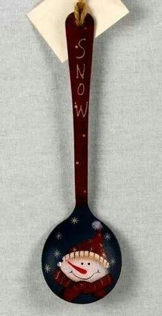 Wooden spoon craft
