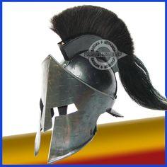 Spartan King Leonidas 300 Movie Helmet Replica gift +FREE LINER.