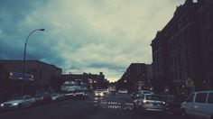 Uptown clouds #nyc #vsco #fall