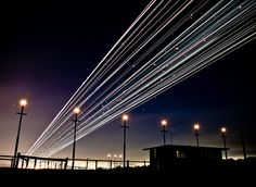 Melbourne Airport Long Exposure