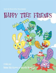 Happy Tree Friends (French) 11x17 TV Poster (2006)