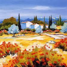 Watercolor Landscape, Landscape Art, Landscape Paintings, Watercolor Art, Italy Landscape, Painting Abstract, Italy Art, Italy Italy, Art Through The Ages