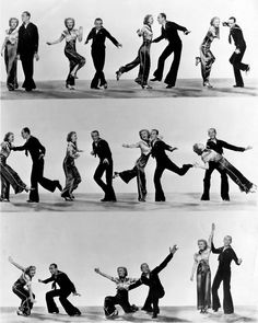 Fred Astaire and Ginger Rogers Fred Astaire, Golden Age Of Hollywood, Classic Hollywood, Old Hollywood, Gene Kelly, Shall We Dance, Just Dance, Fred And Ginger, Lindy Hop