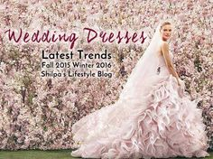 From Oscar de la Renta to Vera Wang, we've seen the latest wedding dresses. Discover the best gowns and latest trends to help you select your dream-dress!