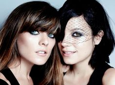 """Lily Allen and her sister Sarah Owen have launched their own clothing line """"Lucy in Disguise"""" pictures of the outfits on this website"""