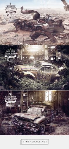 MATTEPAINTING ART on Behance... - a grouped images picture - Pin Them All