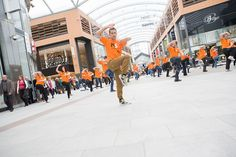 Kuk Sool Won on Livingston treat shoppers to 'Fightback' Flashmob to help beat MS by MS Society Scotland, via Flickr