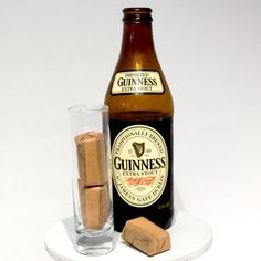 You can buy these Vegan Bacon Guinness Salted Caramels on Etsy! And before anyone freaks, it's the vegan type of Guinness! That's bacon and beer in a caramel.