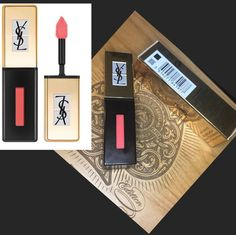 YSL Pop Water Glossy Lip Stain - 218 NIB - Mercari: Anyone can buy & sell