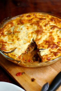 Crackers on the Couch: Lazy Mama Moussaka