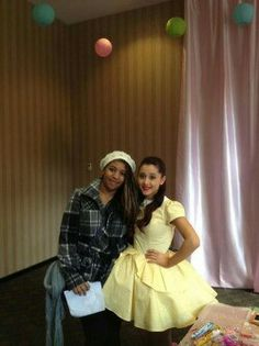 Ariana at her meet and greet in Vancouver Oct12