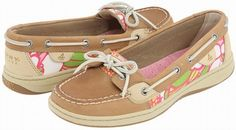 Linen Floral Angelfish Shoes by Sperry Top Sider
