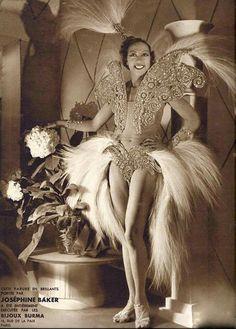 Josephine Baker.                                                                                                                                                      Mehr