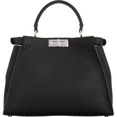 Fendi Selleria Small Peekaboo Bag at Barneys.com
