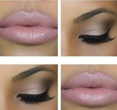 Want this but more dramatic eyes and LASHES!!!!! | Weddingbee Photo Gallery