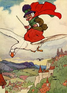 Story Book Sundays - Mother Goose - Illustrated by Frank Adams