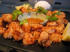 Weight Watchers Baked Coconut Shrimp recipe 6 points
