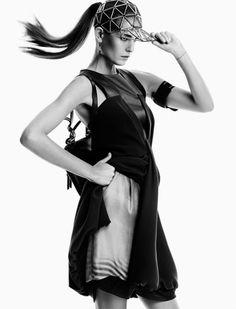 Vogue Japan April 2015   Nadja Bender by Victor Demarchelier [Editorial]