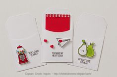 Valentine's Card and Tags ~ Capture. Create. Inspire.