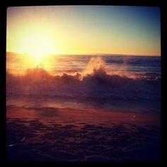 sunset beach, vina del mar