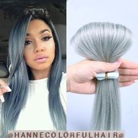 7a tape hair Indian remy tape hair extensions 20pcs 20 inch or 24 inch wholesale…