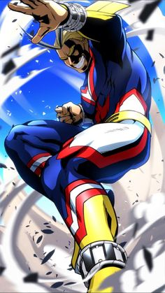 All Might-boku no hero academia;really nice anime