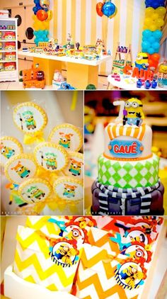 Despicable me 2 party full of cute ideas via KarasPartyIdeas.com #despicableme #despicableme2 #partyideas