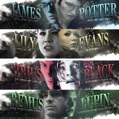 Does anyone else realize Lilly is Amy Pond, Sirius is Prince Caspian, and Lupin is Spiderman?!?!