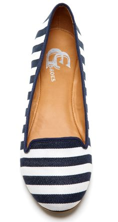 Nautical Stripe Flats