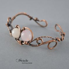 Gentleness - bracelet with pink quartz - Jewelry - DecoBazaar