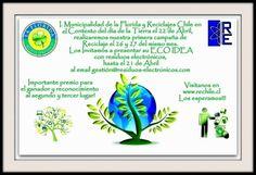 Presenta tu ecoidea con residuos electrónicos y participa de esta genial iniciativa en la comuna de La Florida! #accionesverdes #ecoidea #estudiantes #umayor