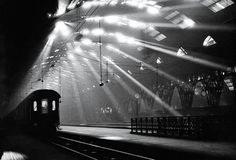 Central Station, Milan, 1955 by Pepi Merisio