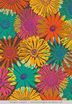 Bloom-Bloom   ©wagner campelo PALETA DE CORES.