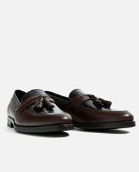 SPECIAL EDITION LEATHER TASSEL LOAFERS