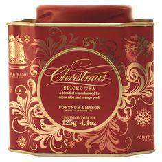 Fortnum & Mason Christmas Tea Tin