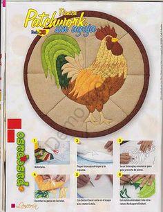 aa (394x512, 302Kb) Patchwork Patterns, Mug Rugs, Needlework, Applique, Diy, Kids Rugs, Album, Quilts, Mugs