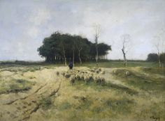 Anton Mauve: Morning Ride on the Beach (1876)