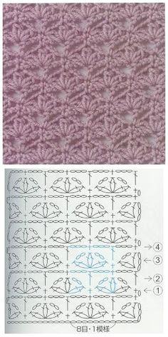 Lace Patterns, Embroidery Patterns, Stitch Patterns, Knitting Patterns, Sewing Patterns, Crochet Patterns, Crochet Diagram, Crochet Shawl, Crochet Lace