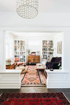Built-in library in living room Designs For Living Room, Young House Love Living Room, Living Room Decor Ideas Apartment, Tv In Living Room, Living Room Shelf Decor, Small Home Design, Interior Design Living Room Warm, Loving Room Decor, Living Room Decor Styles