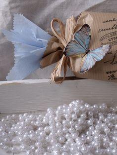 Emballage cadeau papillon