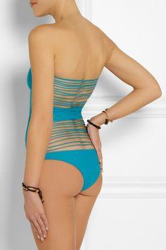 Mikoh - Santorini string swimsuit. Swimsuits 2014SwimwearBikinisBeachwearSantoriniOne  Piece SwimsuitBathing SuitsWomens ... e9cb7104798c
