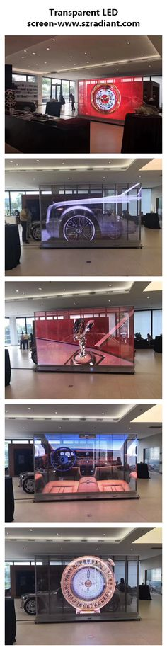 Transparent LED screen, customize is acceptable and siupport send the content via network bu smart phone. If you have interests, please visit: www.szradiant.com