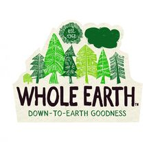 "Whole Earth branches out with ""natural"" visual identity"