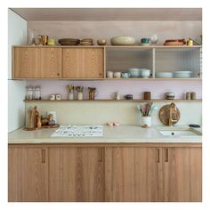 Kinfolk decor interior - Blueberry Home - kinfolk wood kitchen decor - Interior Design Studio, Interior Design Kitchen, Interior Decorating, Kitchen Storage, Kitchen Decor, Kitchen Wood, Kitchen Ideas, Blueberry Home, Sweet Home