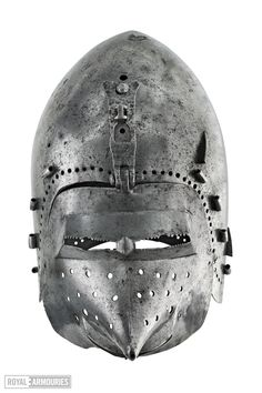 Bascinet, Royal Armouries, Leeds 1370-1400 ref_arm_1528