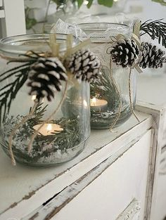 Votives for winter