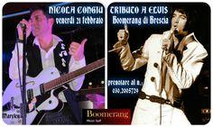 Nicola Congiu - Tributo a Elvis 21.02.14 Boomerang Music Hall di Brescia. E' iniziato il countdown - 6 !!!