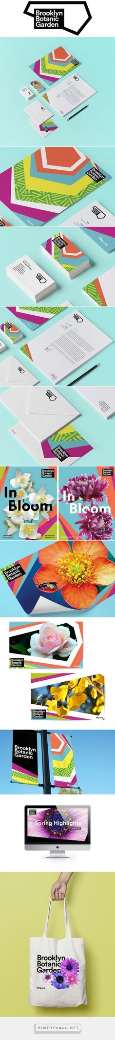 Brooklyn Botanic Garden on Behance… – a grouped images picture – corporate branding identity Corporate Design, Corporate Id, Corporate Branding, Brand Identity Design, Graphic Design Branding, Logo Design, Design Agency, City Branding, Stationary Branding