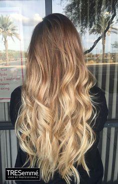 Hair Balayage Honey Blonde 53 Ideas For 2020 Ombré Hair, Wavy Hair, Dyed Hair, Brown Blonde Hair, Blonde Balayage Long Hair, Ombre Hair Color, Hair Colour, Hair 2018, Hair Looks